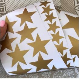 150 adet karışık 3 boyutu kalıp kesim yıldız mat vinil çıkartması kolay çıkarılabilir yıldızlı yıldız duvar çıkartmaları çocuk odası dekorasyon için