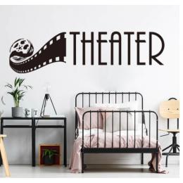 Theatre Addicts  Stickerı  115x50cm