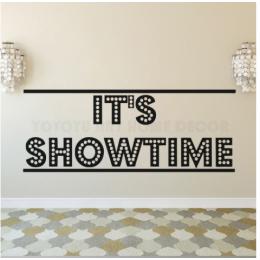 Showtime  Stickerı  115x50cm