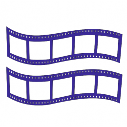 Sinema Film Şeridi  Duvar Stickerı 115x50cm