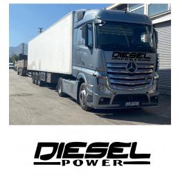 Kişiye Kamyona Özel Diesel Power Sticker Yapıştırma