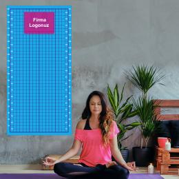 Firmaya Özel Yoga ve Plates Postür Tablosu Duvar Yapıştırma 200x100cm