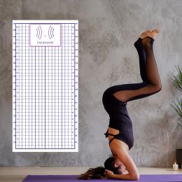 Firmaya Özel İnoshape Yoga ve Plates Postür Tablosu Duvar Yapıştırma 200x100cm