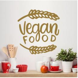Vegan Food  Duvar Stickerı
