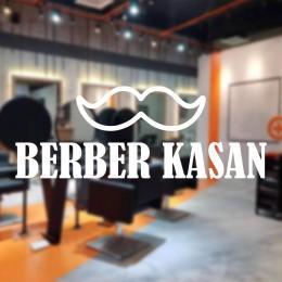 Kişiye Berberlere Kuaförlere Özel Firma Kuaför Berber Kasan Cam Vitrin Sticker Yapıştırma