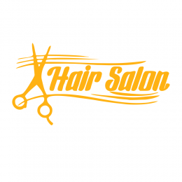 Kişiye Berberlere Özel Hair Salon Sticker Yapıştırma