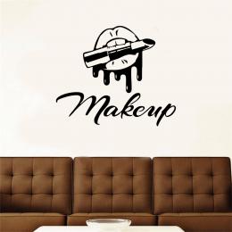 Kişiye Berberlere Özel Makeup Sticker Yapıştırma
