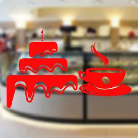 Fırın Ve Pastanelere Özel Kahve Ve Pasta Yapıştırma