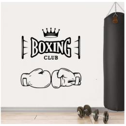 Boxing  Yazısı Spor Salonu Duvar Stickerı