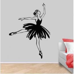 Balerin Yazısı Spor Salonu Duvar Stickerı