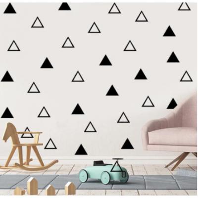 İskandinav tarzı Teepee vinil duvar Sticker kreş dekor, Modern çocuk yatak odası duvar çıkartmaları sevimli Tribal çadır sanat dekoru