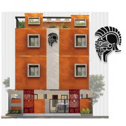 Yunan Gladyatör Maskı Metal veya Kompozit Dekoratif Cephe Süslemeler 50x36 cm