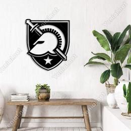 Spartalı Asker Kaskı ve Kalkan Duvar Oda Ev Aksesuarı Ahşap Tablo 42x50cm