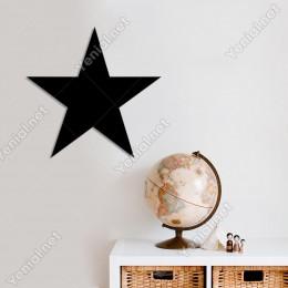 Yıldız Duvar Oda Duvar Oda Duvar Aksesuarı Ahşap Tablo 50x48cm