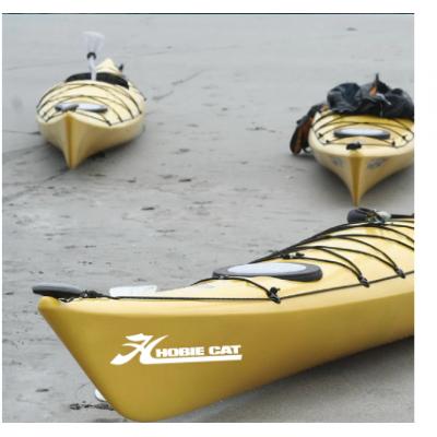 Kişiye ve Tekneye Özel  Hobie Cat Yazısı İsim Sticker 115x50cm