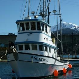 Kişiye ve Tekneye Özel Searcher  Yazısı İsim Sticker 115x50cm