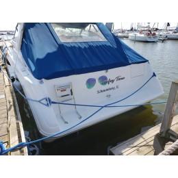 Kişiye ve Tekneye Özel Teefey Time Yazısı İsim Sticker 115x50cm
