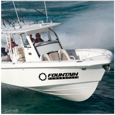 Kişiye ve Tekneye Özel İsim Sticker 115x50cm