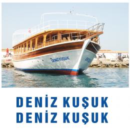 Kişiye Tekneye Yatlara Özel Deniz Kuşuk  Yazısı Sticker Yapıştırma 100x20cm