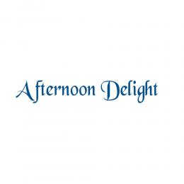Kişiye Tekneye Yatlara Özel  Afternoon Delight Logo Yazısı Sticker Yapıştırma 100x20cm