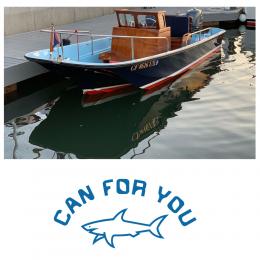 Kişiye Tekneye Özel  Can Four You  Yazısı ve Sticker Yapıştırma 120x70cm