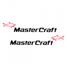 Kişiye Tekneye Özel Master Craft Logosu Yazısı ve Sticker Yapıştırma 100x20cm