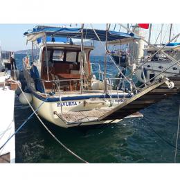 Tekneye Yat'a Özel Pavurya Çalışması Sticker Yapıştırma 100x20cm
