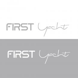 Kişiye Tekneye Yatlara Özel Fırst Yacth Logo Yazısı Sticker Yapıştırma 100x20cm