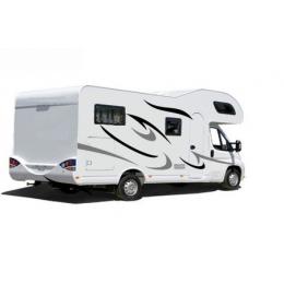 Karavan karavan çekme karavan karavan çizgili grafik çıkartması su geçirmez kişiselleştirilmiş araba Sticker vinil KK,120cm * 43cm