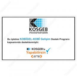 Kosgeb Destek Programı Kobigel Kobi Gelişim Tabelası