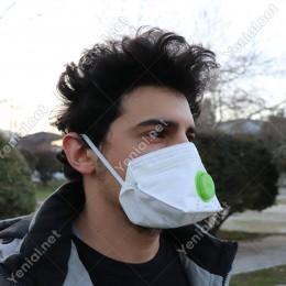 Era Toz Maskesi Ventilli Katlanabilir Era- 1110 V FFP1 NR