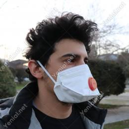 Era Toz Maskesi Ventilli Katlanabilir Era-1310 v FFP3 NR D