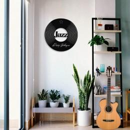 Jazz Müziğin Kıralı Dizzy Gillespie Tasarım Metal Tablosu 50x50cm