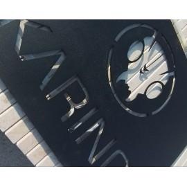 Karınca Butik Saç Metal Tablo ve Tabela 60x40cm