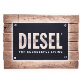 Firmaya Özel Diesel For Successful Living Metal Saç Tabela 50x40 cm