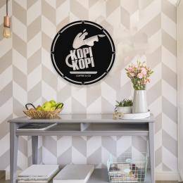 Firmaya Özel Kopı Kopı Coffee  Dekarosyon İçin Metal Saç Tabela 50x50 cm