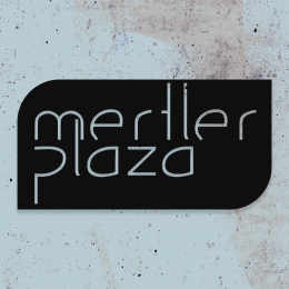 Firmaya Özel Merter Plaza Dekarosyon İçin Metal Tabela   60x30 cm