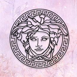 Mitolojik Hermes Metal Dekoratif Tablo Tasarımı 50x50 cm