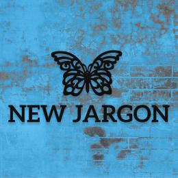 Firmaya Özel New Jargon ve Kelebek Dekarosyon İçin Metal Saç Tabela 70x30 cm