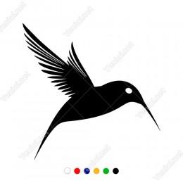Ağaç Kakan Kuşu Sticker Yapıştırması