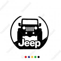 Jeep Yazısı ve Jeep Görseli Modifiye Araba Sticker