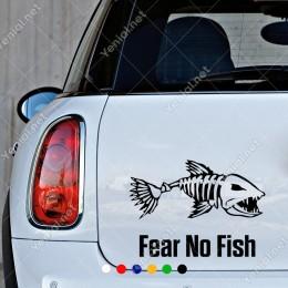 Pirana Balığı Sticker Yapıştırma Etiket