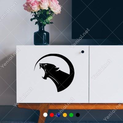 Puma Kedi, Hayvan, Araba Sticker Vinil Araba Yapıştırma