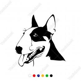 Sevimli Dil Çıkartakan Köpek Sticker Yapıştırması