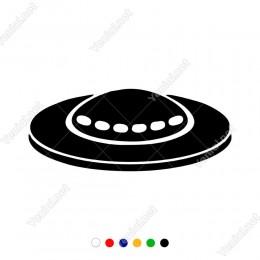 Silindir Uzay Aracı Sticker Yapıştırma