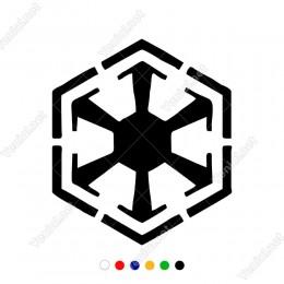 Star Wars Sith Dark Side Sticker Yapıştırma