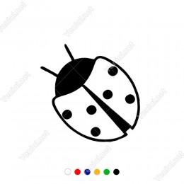 Uğur Böceği Araç Modifiye Araba Sticker