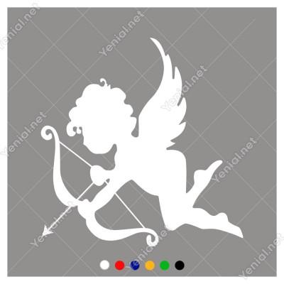 Aşıklara Ok Atan Aşk Tanrıçası Eros Sticker