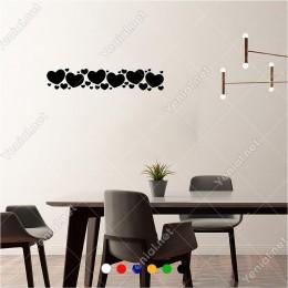 Büyüklü Küçüklü Kapler Bordür Süsleme 60x10 cm Duvar Sticker