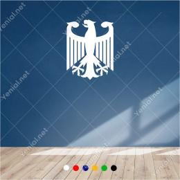 Kanatlarını Açmış Pençeli Sert Kartal 45x60 cm Duvar Sticker